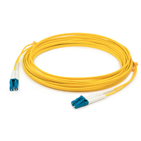 Add-On Computer Peripherals (ACP) ADD-LC-LC-10M9SMF-TAA 10m LC LC Yellow fiber optic cable