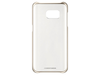 "Samsung Clear Cover 5.1"" Cover Gold,Transparent"