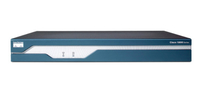Cisco 1841 Ethernet LAN ADSL Blue,Stainless steel wired router