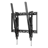"Peerless STP680 90"" Black flat panel wall mount"
