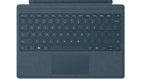 Microsoft Surface Pro Signature Type Cover Microsoft Cover port QWERTY US English Blue mobile device keyboard