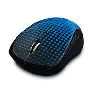 Verbatim 99747 RF Wireless Blue LED Ambidextrous Black,Blue mice