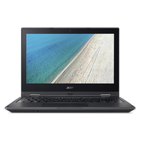 "Acer TravelMate Spin B1 B118-RN-C8JP 1.10GHz N3450 11.6"" 1920 x 1080pixels Touchscreen Black Hybrid (2-in-1)"
