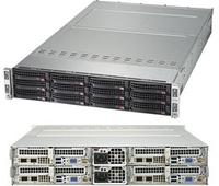 Supermicro SuperServer 6029TP-HTR Intel C621 Socket P 2U Black