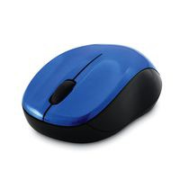 Verbatim SILENT WLS BLUE LED MSE BLUE 2.4GHZ USB Blue LED Ambidextrous Black, Blue mice