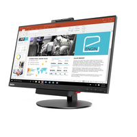 "Lenovo ThinkCenter 23.8"" IPS Black computer monitor"