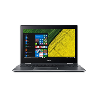 "Acer Spin SP513-52N-5621 1.6GHz i5-8250U 13.3"" 1920 x 1080pixels Touchscreen Grey Hybrid (2-in-1)"