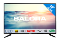"Salora 1600 series 40LED1600 40"" Full HD Zwart LED TV"