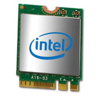 Intel Dual Band Wireless-AC 3168 Internal WLAN/Bluetooth 433Mbit/s