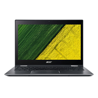 "Acer Spin SP513-52N-52VV 1.6GHz i5-8250U 13.3"" 1920 x 1080pixels Touchscreen Grey Hybrid (2-in-1)"