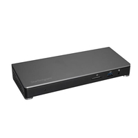 StarTech.com TB3DOCK2DPPD USB 3.0 (3.1 Gen 1) Type-C Black notebook dock/port replicator