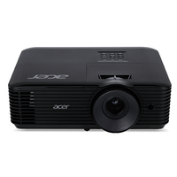 Acer Essential X118H Ceiling-mounted projector 3600ANSI lumens DLP SVGA (800x600) 3D Black data projector