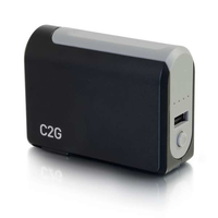C2G 20275 3000mAh Black, Grey power bank
