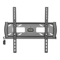 "Tripp Lite DWFSC3255MUL 55"" Black flat panel wall mount"