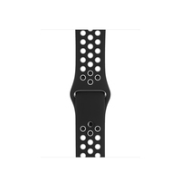 Apple 38mm Black/White Nike Sport Band – S/M & M/L