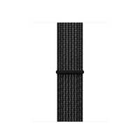 Apple 38mm Black/Pure Platinum Nike Sport Loop