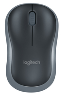 Logitech M185 RF Wireless Ambidextrous Black mice