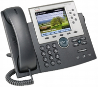 Cisco 7965G Wired handset TFT Black,Grey IP phone