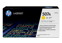 HP 507A Laser cartridge 6000pages Yellow