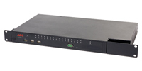 APC KVM 2G 1U Zwart KVM-switch