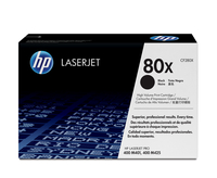 HP 80X Laser cartridge 6900pages Black