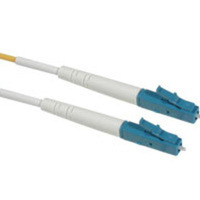 C2G 3m LC/LC Simplex 9/125 Single-Mode Fiber Patch Cable - Yellow 3m LC LC Yellow fiber optic cable