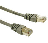 C2G 15m Cat5e Patch Cable 15m Grey networking cable