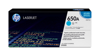 HP 650A Laser cartridge 15000pages Cyan