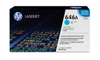 HP 646A Laser cartridge 12500pages Cyan