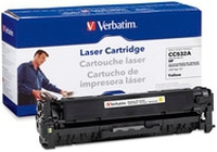 Verbatim CC532A Laser toner 3500pages yellow