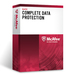 McAfee Complete Data Protection 1001 - 2000 license(s) English