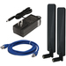 Digi TransPort WR11 AC Power Kit - Extended T Indoor Black power adapter/inverter