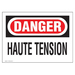 Panduit PVS0710D72Y-F safety sign 1 pc(s) Plate safety sign