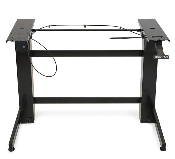 Ergotron WORKFIT-B Black Computer Desk