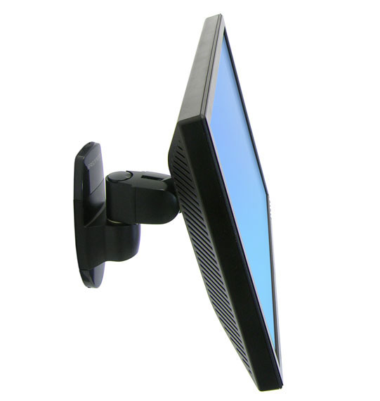 Ergotron 200 Series Wall Mount Pivot 24