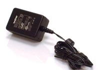 Brother AC Adapter for Label Printers Black power adapter & inverter