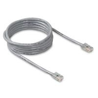 Belkin Cat5E Patch Cable - 5ft Grey 1.5m Grey networking cable