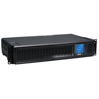 Tripp Lite SMART1500LCDXL Line-Interactive 1500VA 8AC outlet(s) Rackmount/Tower Black uninterruptible power supply (UPS)