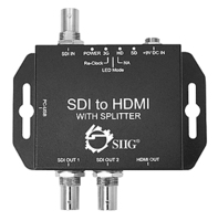 Siig CE-SD0211-S1 SDI video splitter