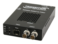 Transition Networks SCSCF3014-110 51.8Mbit/s 1310nm Single-mode Black network media converter