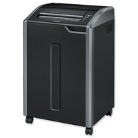 Fellowes 485I Strip shredding Black paper shredder