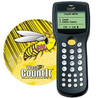 Wasp CountIt + WDT2200, 1 User bar coding software