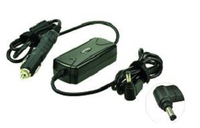 2-Power CAC0625B Universal 90W Black power adapter/inverter
