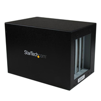 StarTech.com PEX2PCI4 Black interface hub