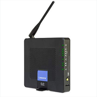 Cisco WRP400 Fast Ethernet Black wireless router