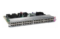 Cisco WS-X4748-UPOE+E L2 Gigabit Ethernet (10/100/1000) Power over Ethernet (PoE) Silver network switch