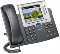 Cisco Unified IP Phone 7965G w/ 1 RTU License Caller ID Black,Silver