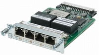 Cisco 4-Port T1/E1 Clear Channel High-Speed WAN Interface Card network switch component