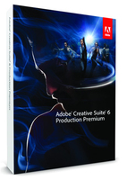 Adobe Production Premium CS6 v6, DVD, Mac, EN