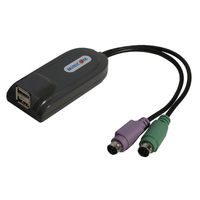 Tripp Lite 0DT60002 USB PS/2 Black cable interface/gender adapter